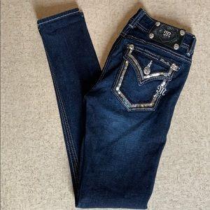 Miss Me super skinny jeans stretch fit W26